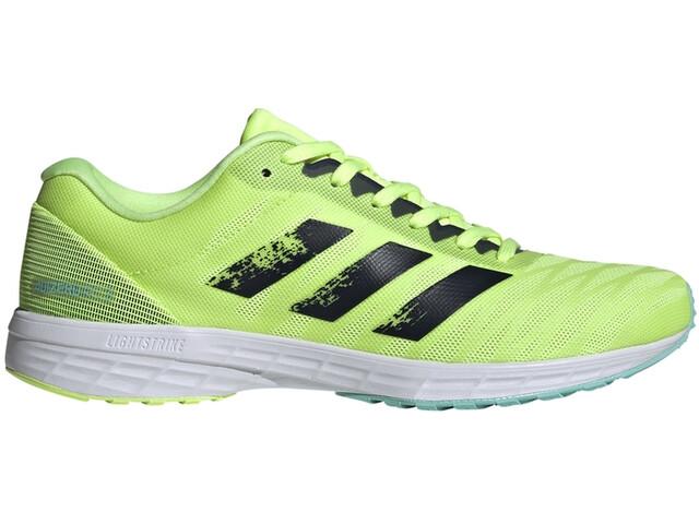 adidas Adizero RC 3 Shoes Women, hi-res yellow/crew navy/clear aqua